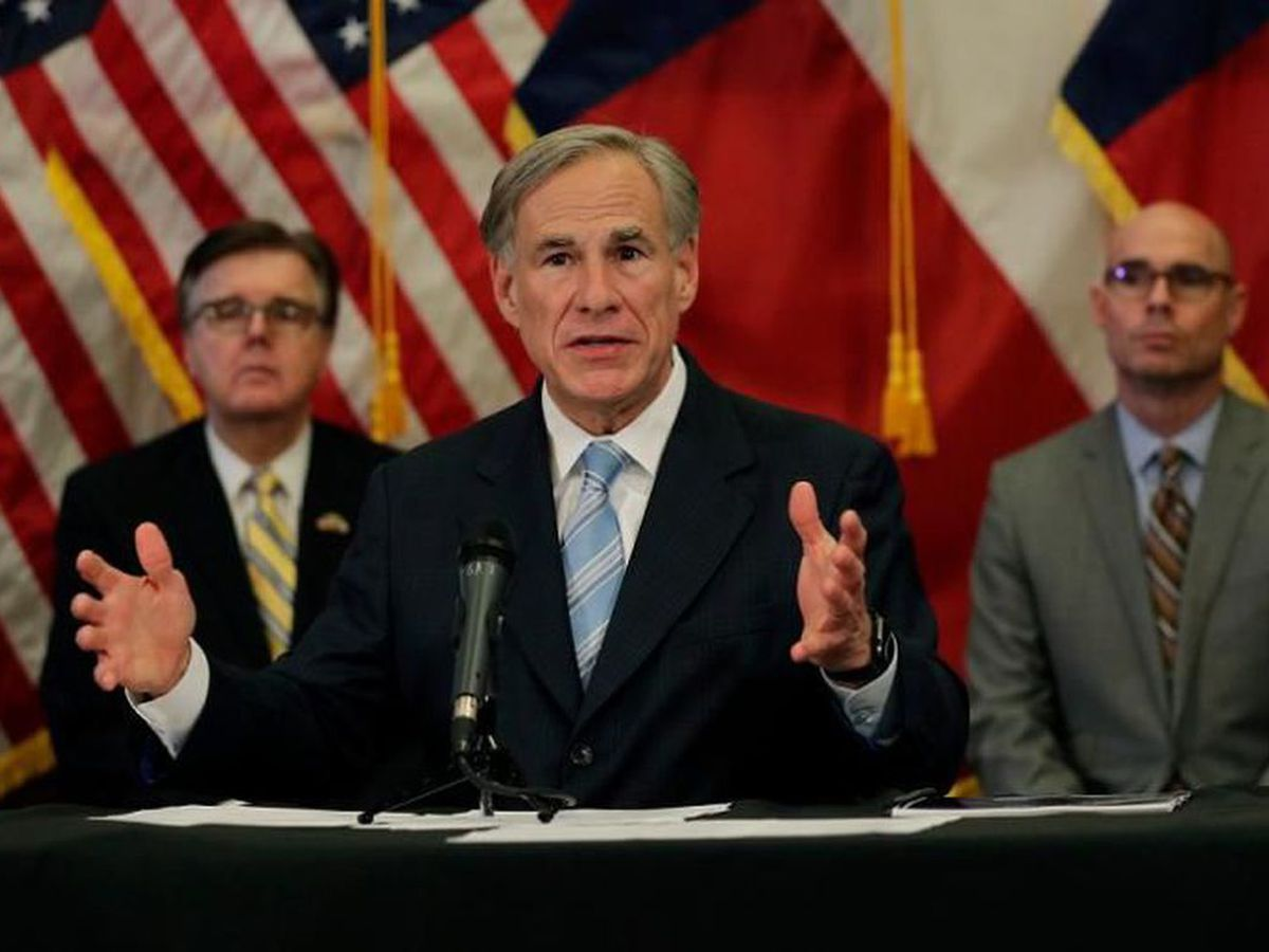 Henderson County Republican Party votes to censure Gov. Abbott over face masks, closures