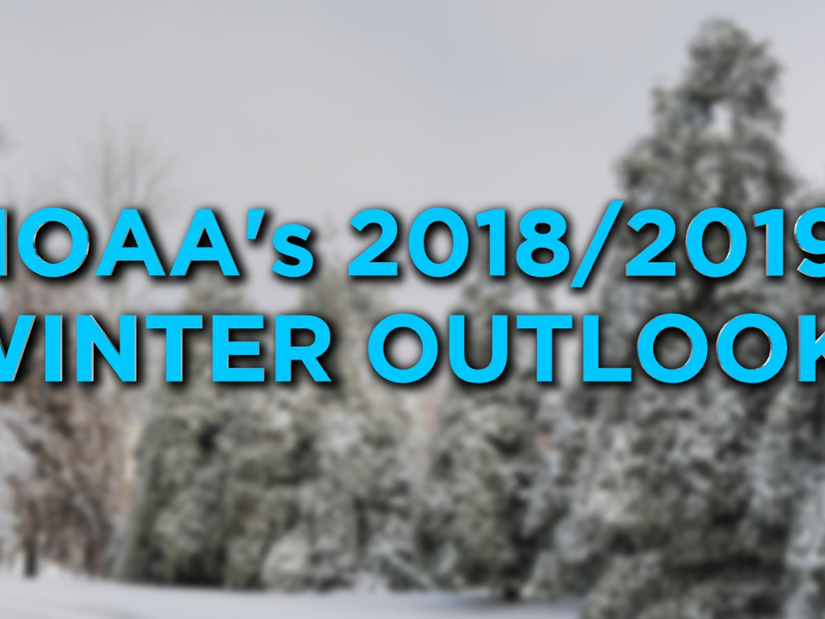 NOAA issues 2018-19 winter outlook