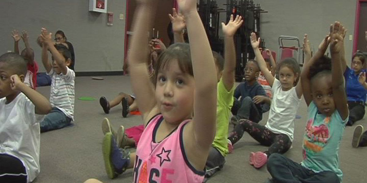 Nacogdoches Head Start celebrate Week of the Young Child with yoga