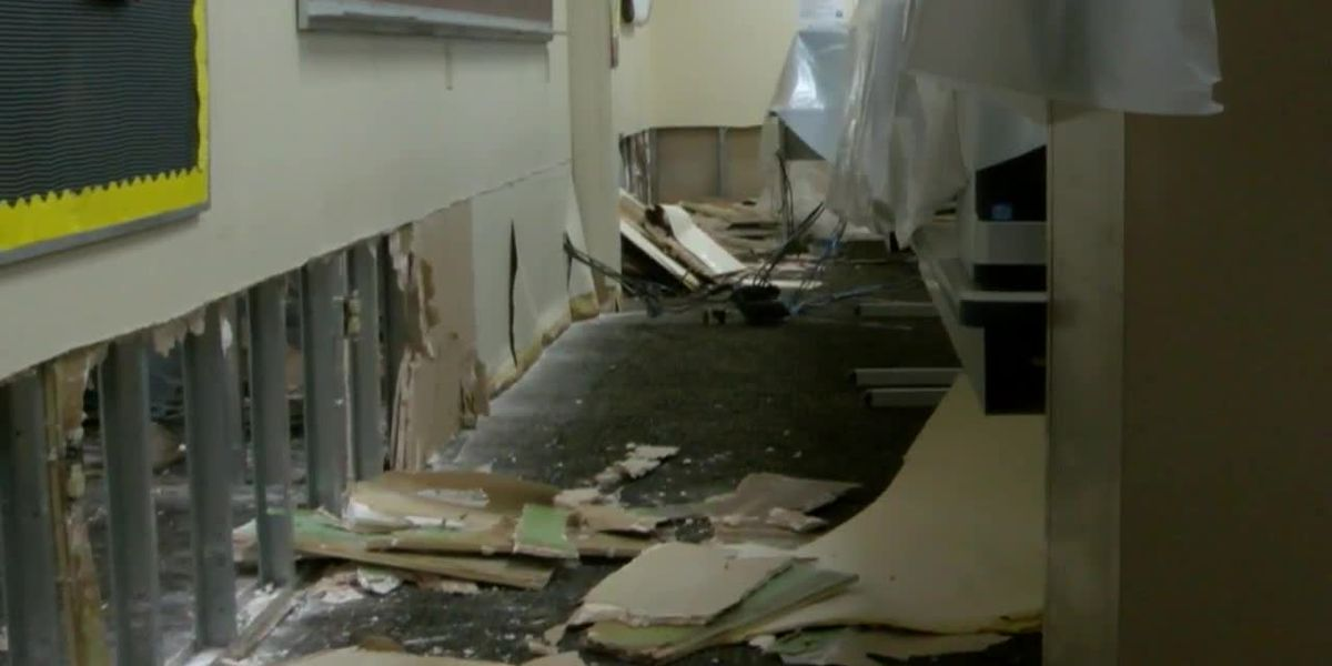 Nacogdoches ISD cleaning up after winter storm causes damage