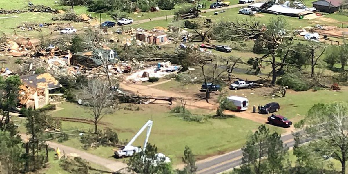 NWS: New data confirms 6 tornadoes hit East Texas