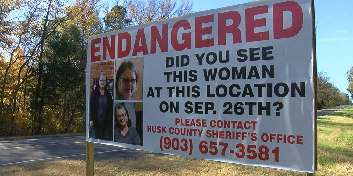 Rusk Co. woman missing for two months; family remains hopeful