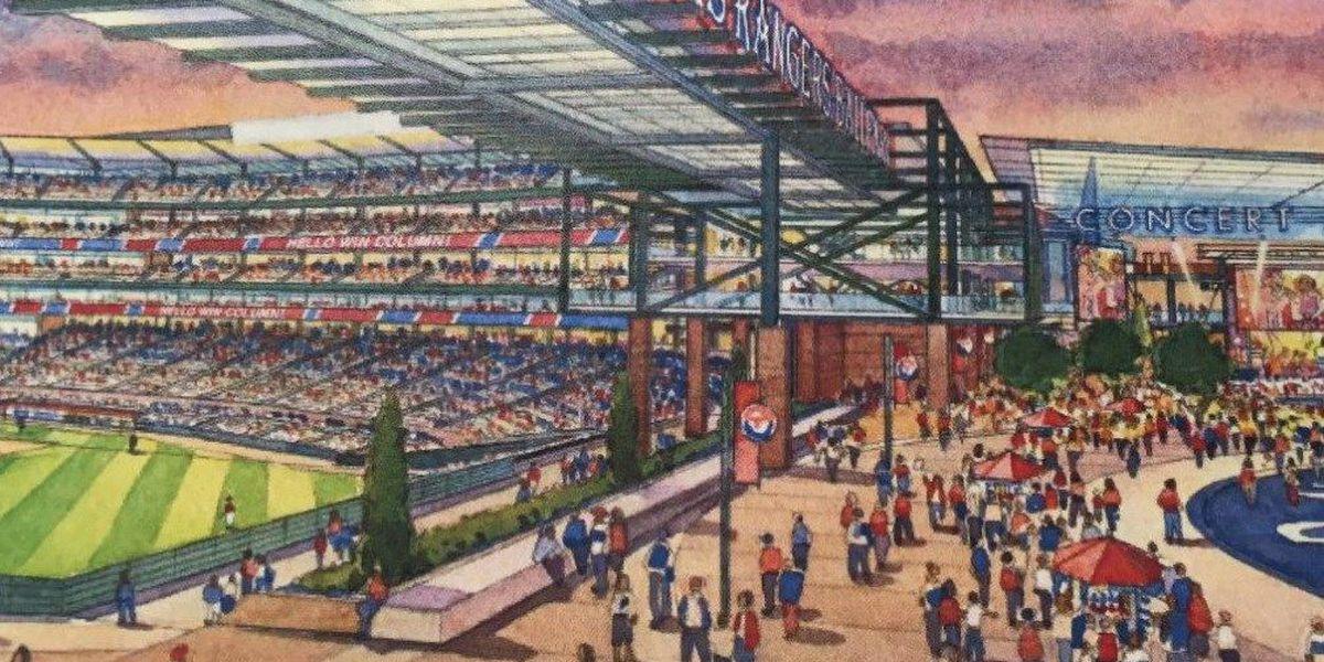 Texas Rangers plan $1B retractable-roof stadium