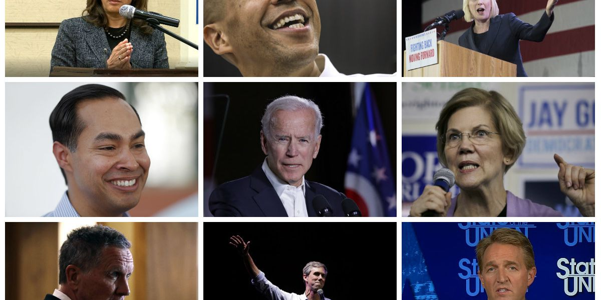 2020 presidential challengers and those who may run