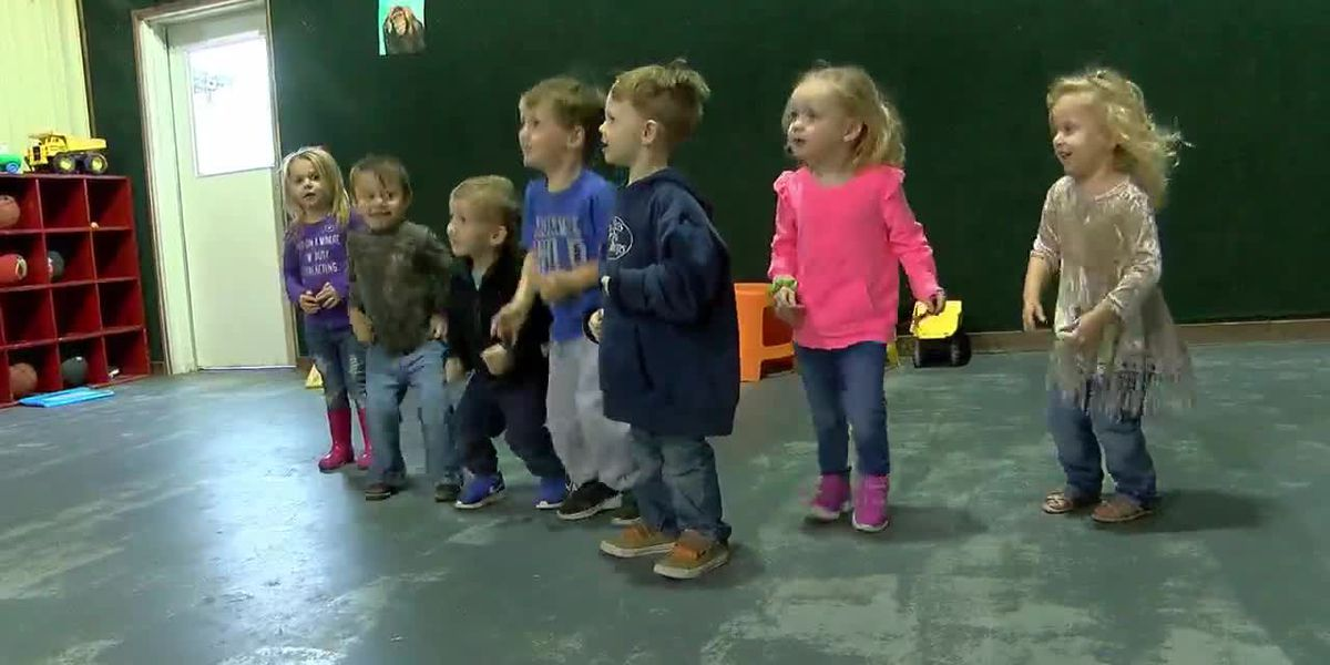How East Texan pre-schoolers stay active as new federal guidelines go into effect