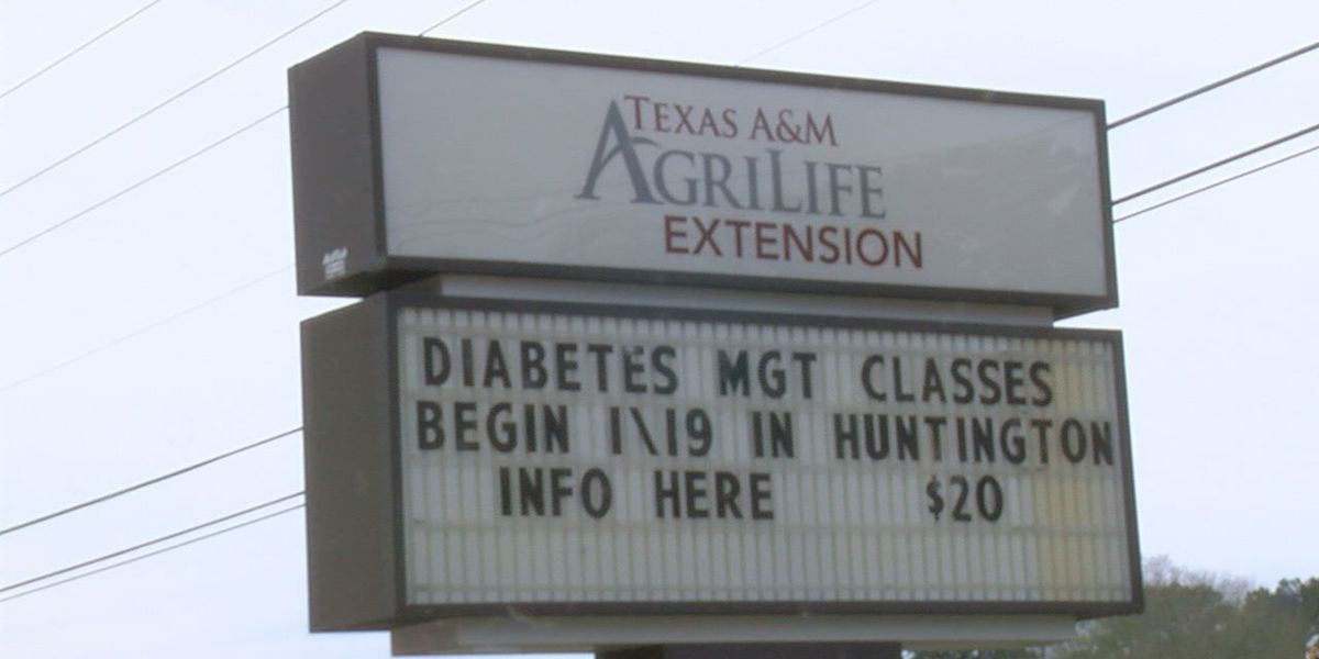Angelina County Ag Extension office hosting diabetes seminar