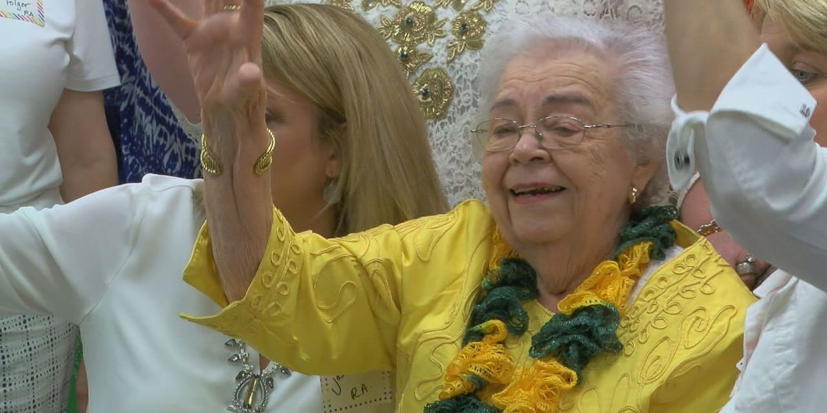 Lufkin resident celebrates 90th birthday with Baylor reunion