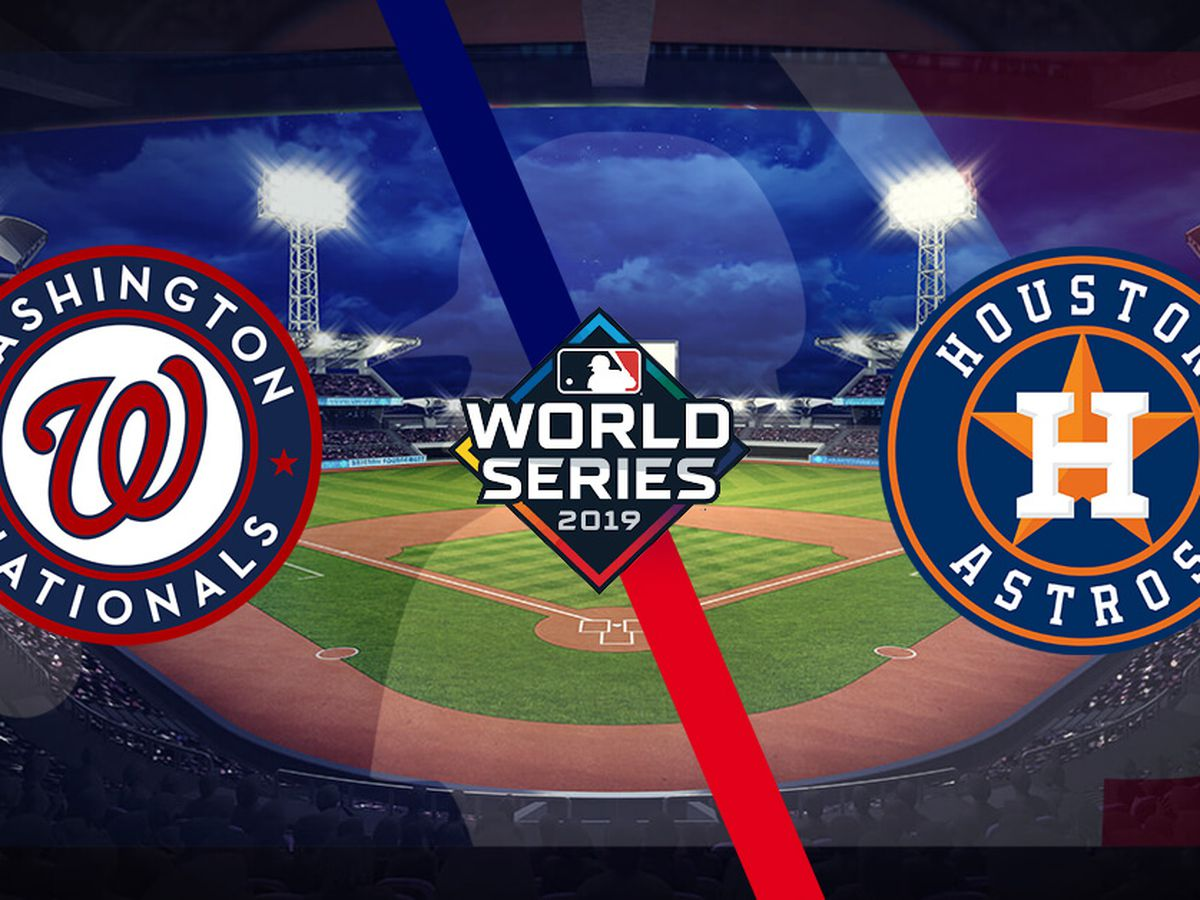 Nats top Atsros 5-4 in game 1 of World Series