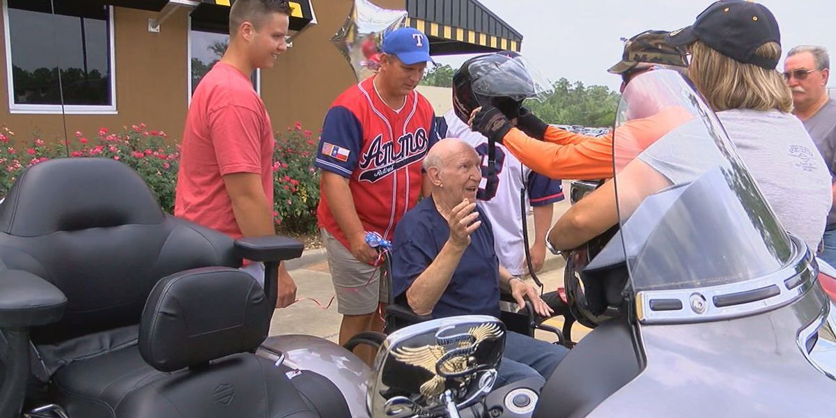 East Texas vet, first to graduate Army Special Forces receives special treat