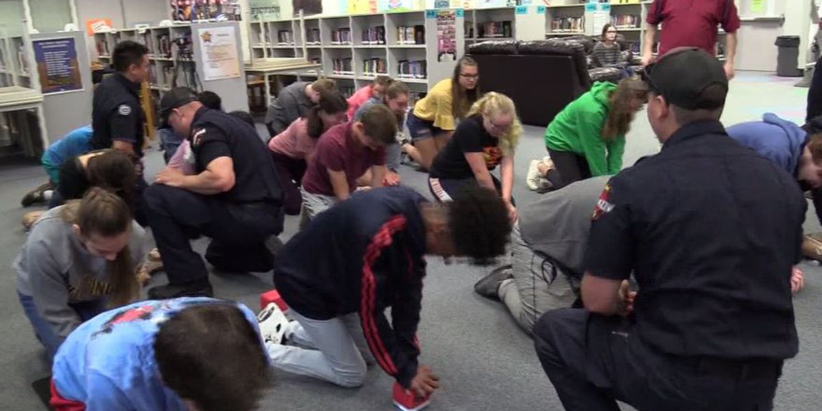 'Baby Shark' could help save lives, as middle schoolers learn to perform CPR to song