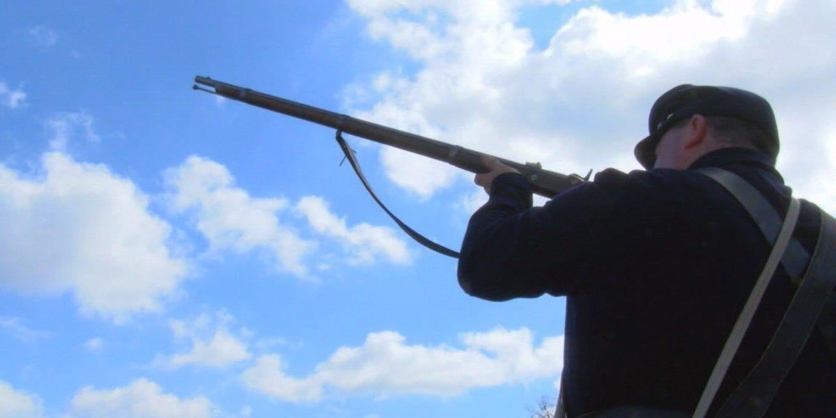 Groveton visits history with 'Battle of Blackjack' Civil War reenactment