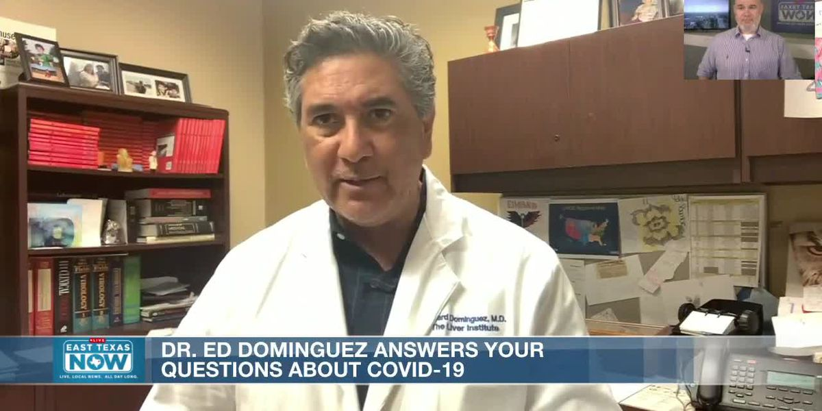 Dr. Ed answers coronavirus concerns on symptoms, reinfection, mask versus face shield