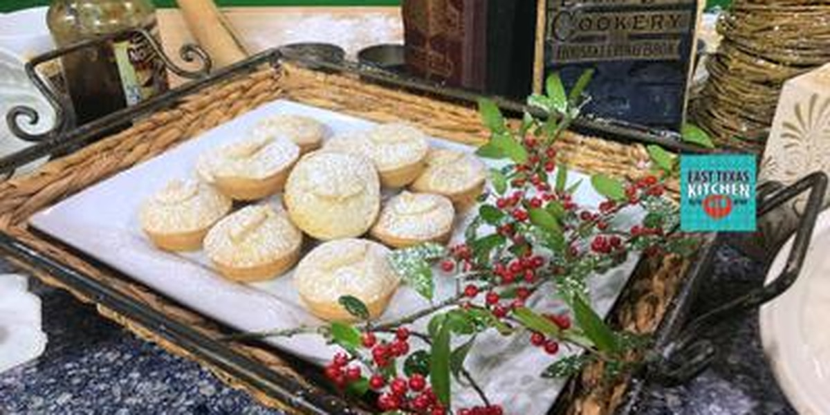English mince pies by Chef Simon Webster