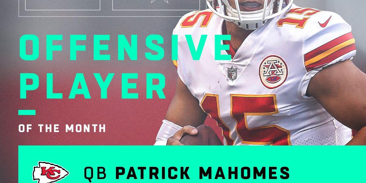 Mahomes, Watt headline NFL player of the month honors