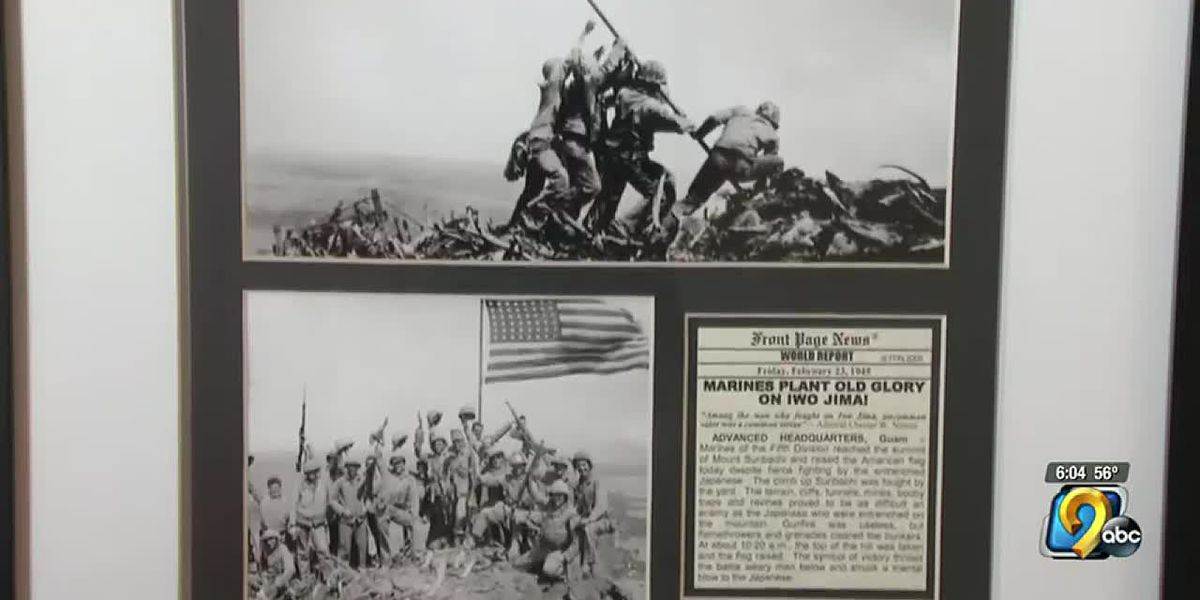 Man finally officially recognized for Iwo Jima photograph