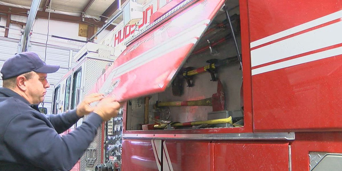 Hudson firefighters run into water shortage problems say