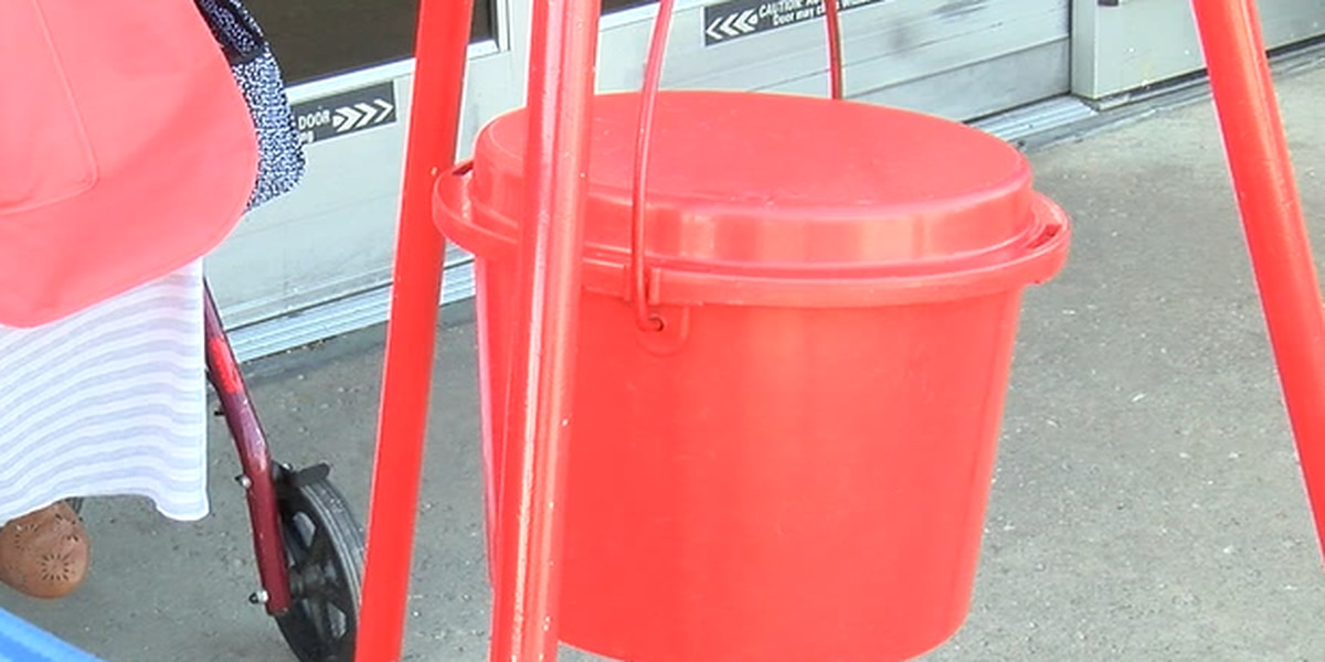 With Christmas 2 weeks away, Salvation Army Red Kettle donations down $100K this year