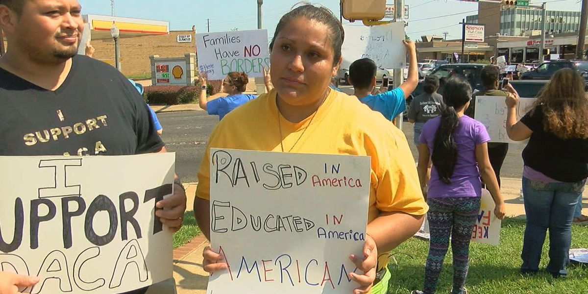 Nacogdoches residents held DACA rally to protect undocumented immigrants