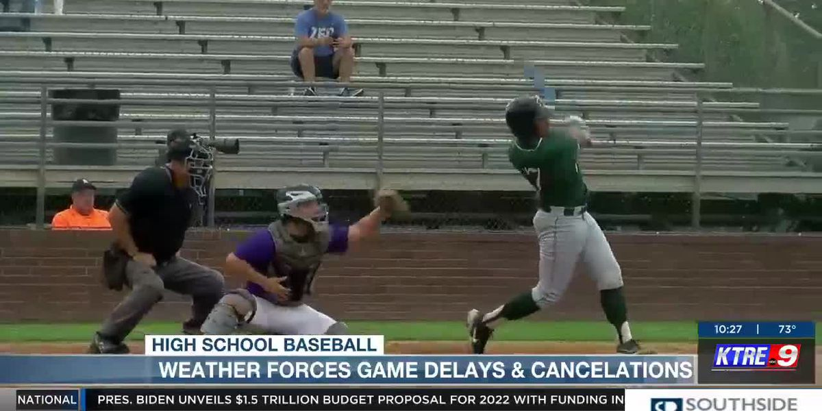 Weather causes Baseball cancelations