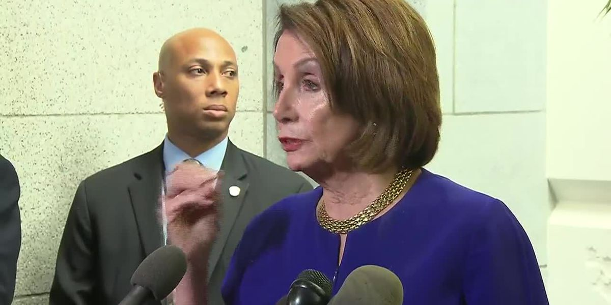 Pelosi: Trump 'engaged in cover-up'