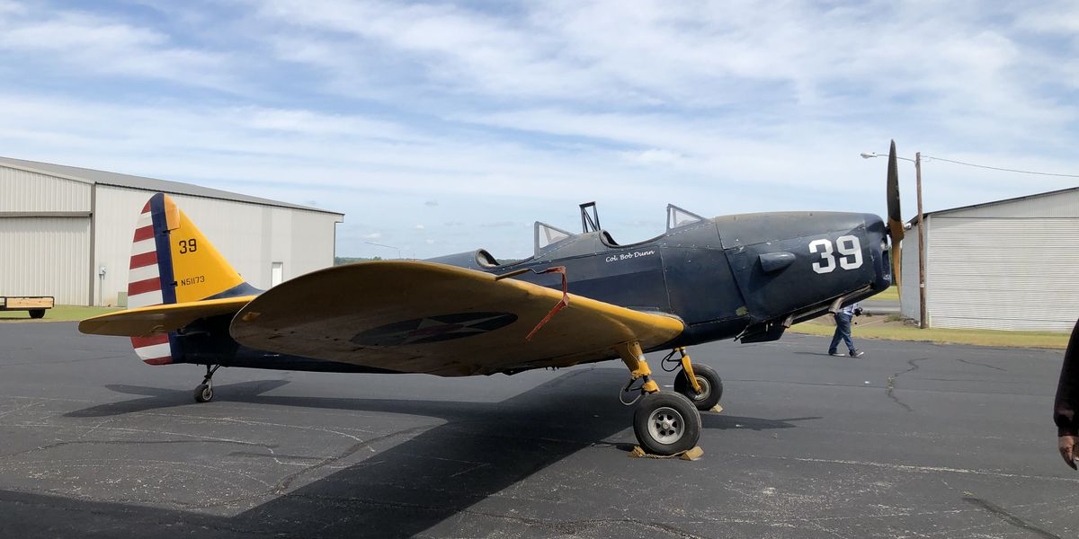 Late former Nacogdoches mayor's vintage WWII aircraft starts its journey to new home