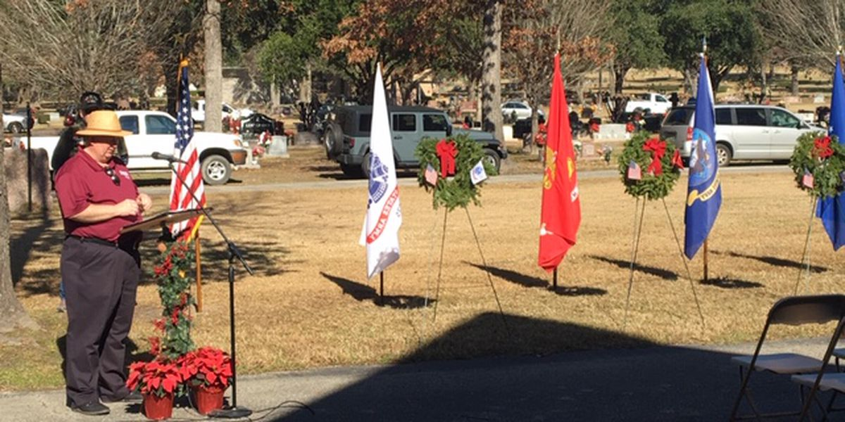 Wreaths Across America Ceremony in Lufkin