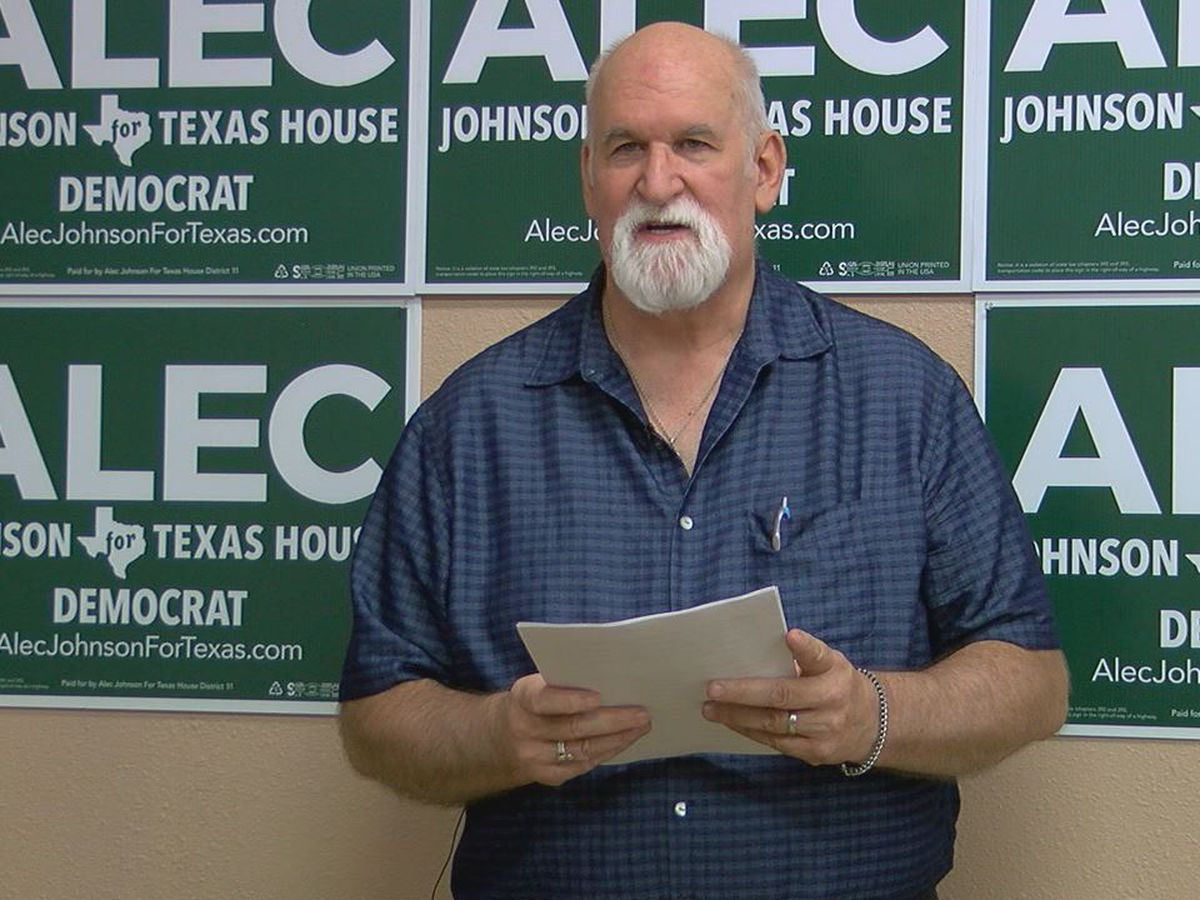 State Rep. candidate calls for ending gov't 'corruption' at press conference in Nacogdoches