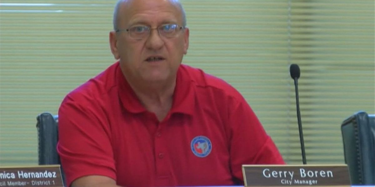 Diboll city manager announces resignation during council meeting