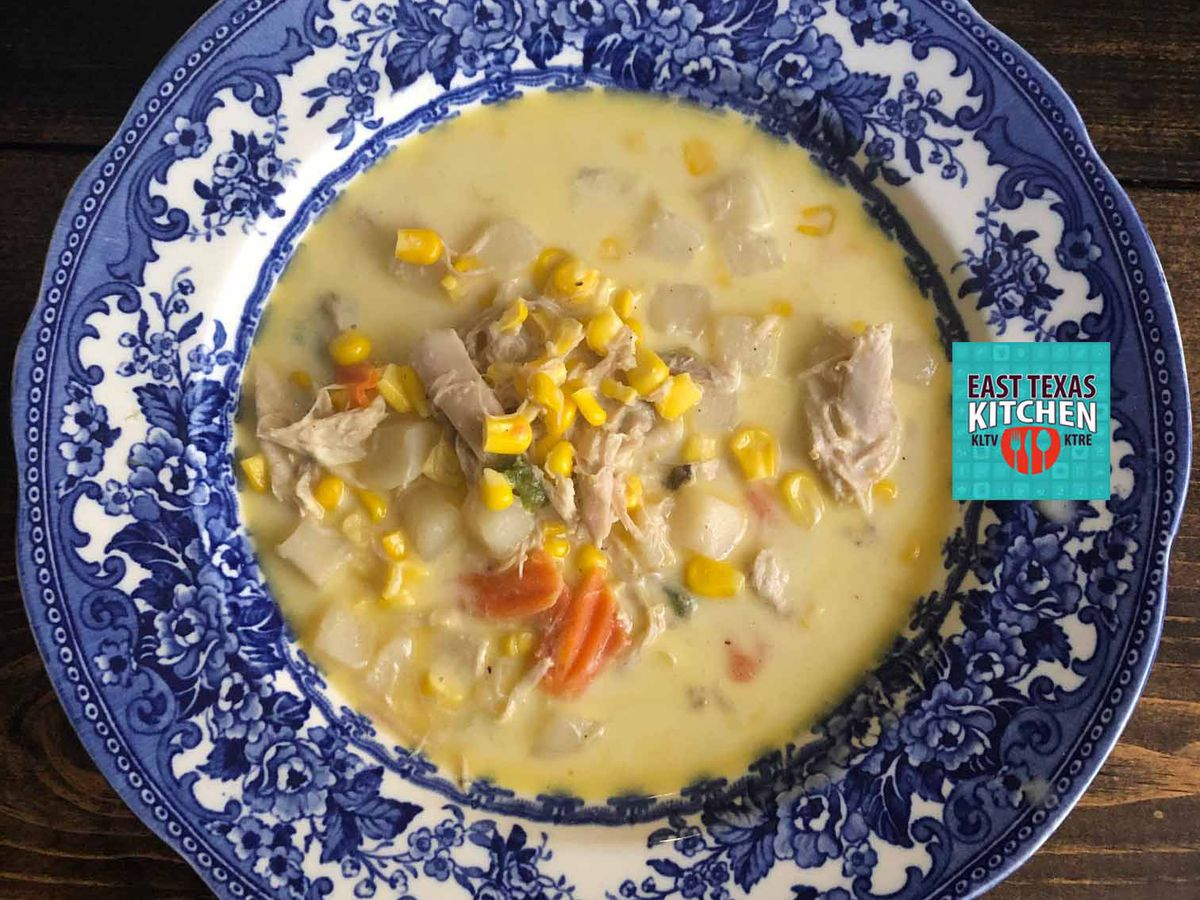 Creamy turkey-vegetable soup by Mama Steph