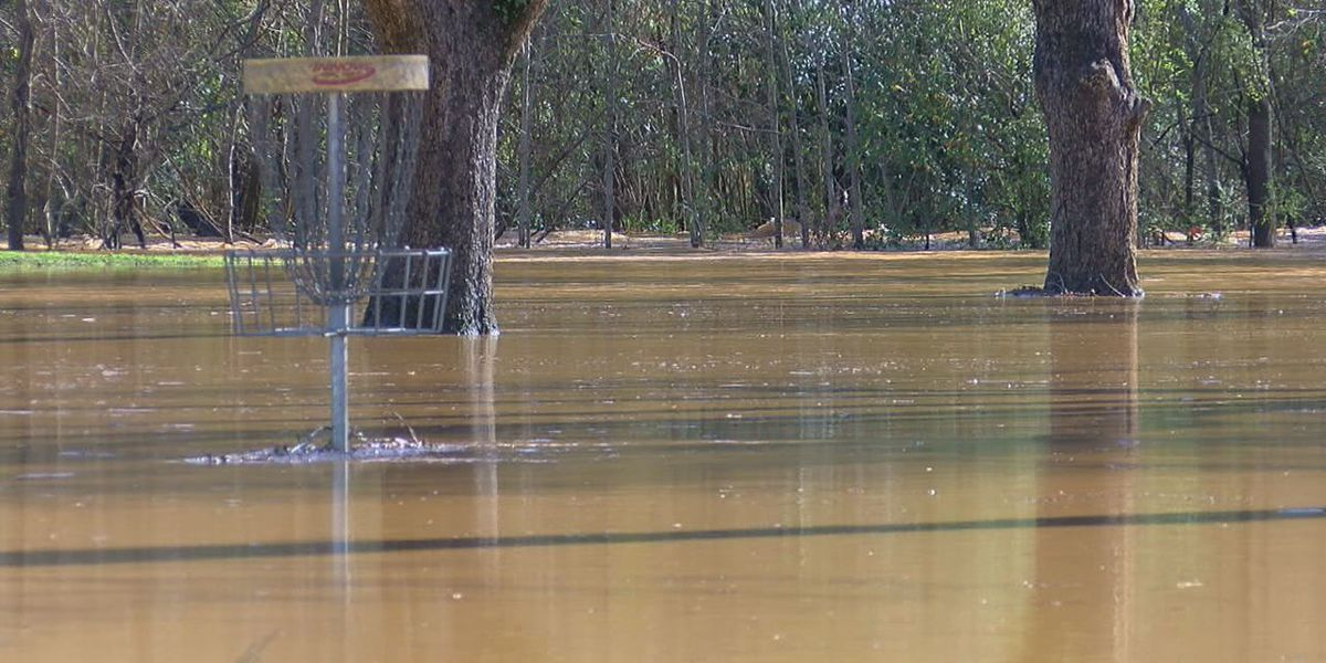 Overnight storms result in floods and road closures in deep East Texas