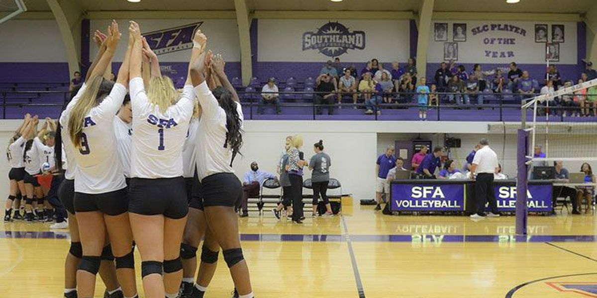 SFA women's volleyball team picked to finish 2nd in preseason poll