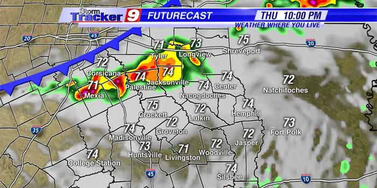 Spring storms back in your StormTracker forecast