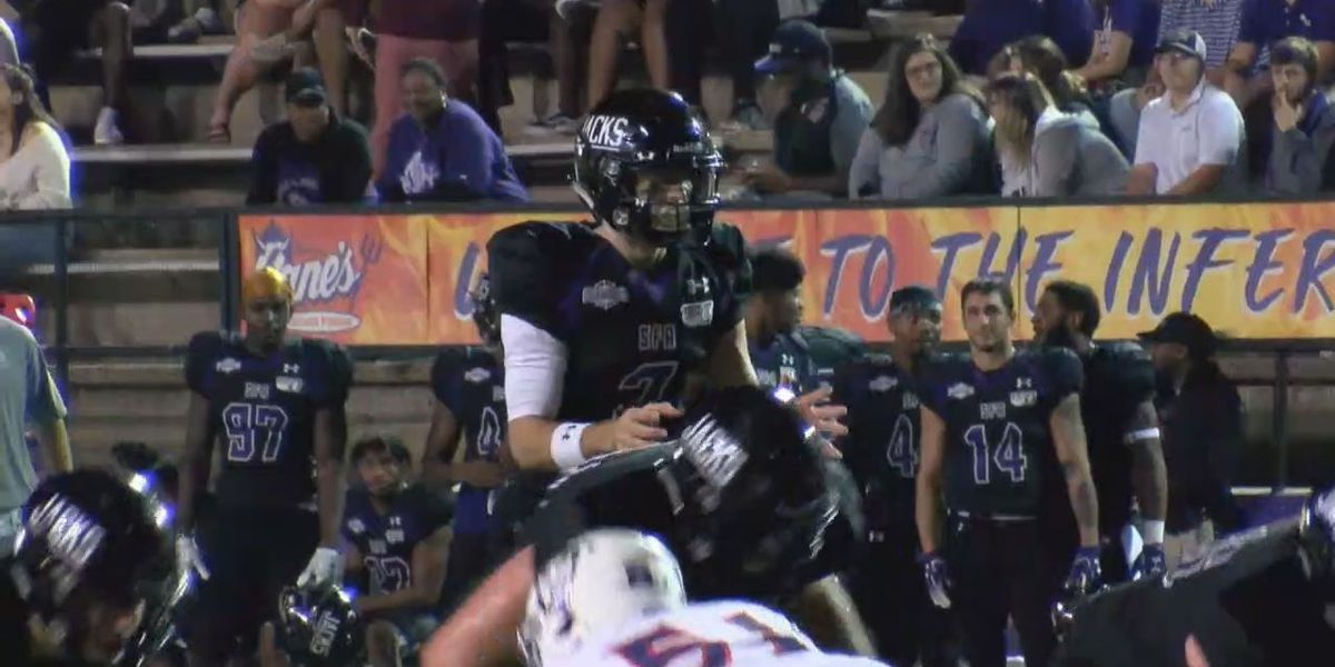 SFA leaves Natchitoches with Chief Caddo after 32-20 victory over NSU