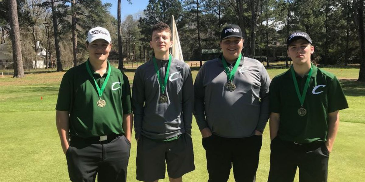 East Texans battling for gold after day one of UIL Golf Championships