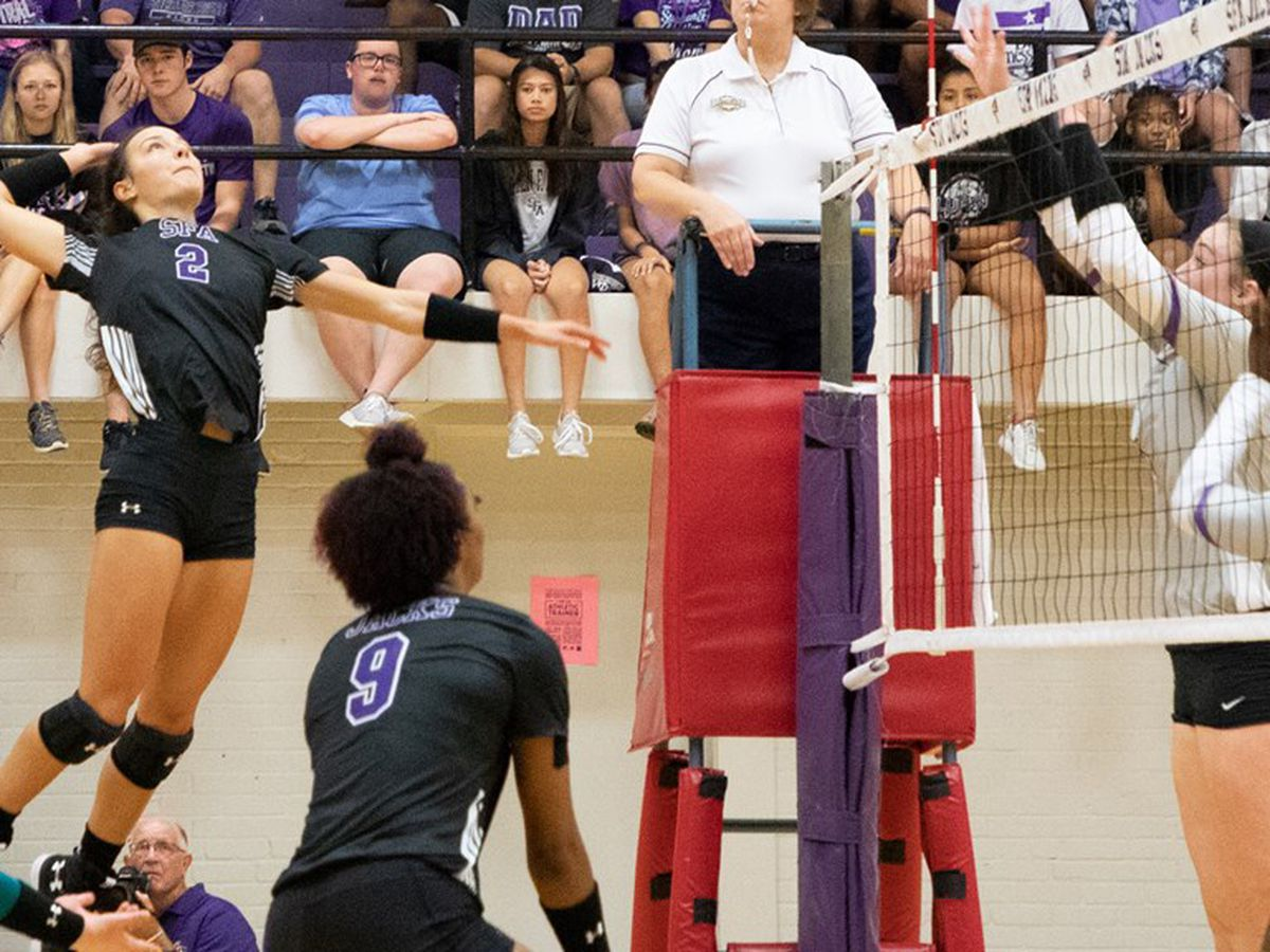SFA puts 11 match winning streak on the line Tuesday against Northwestern State