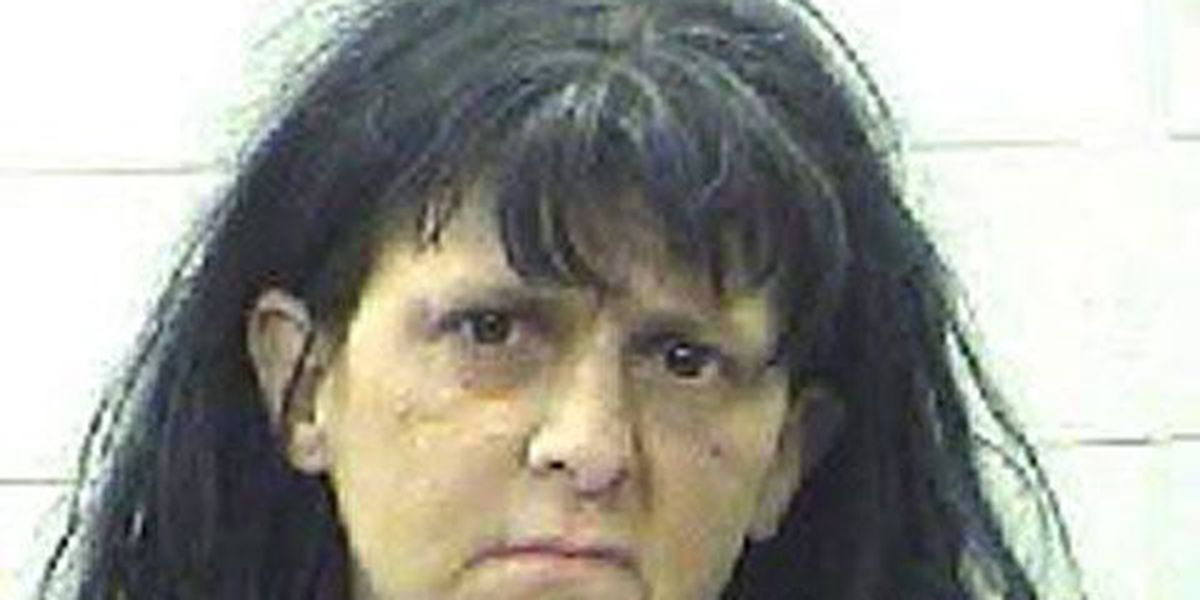 Livingston PD: Woman who was sitting in creek holding vodka hit officer with mud
