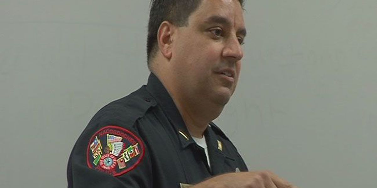 Veteran Nacogdoches PD officer teaches SFA class on law enforcement stress