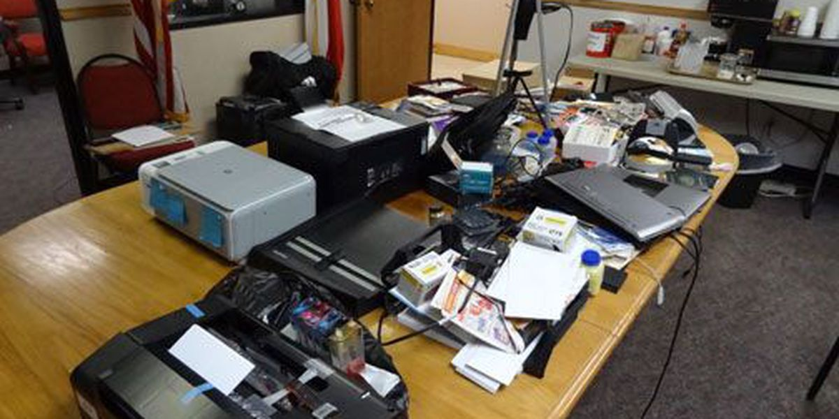 Nacogdoches Co. Sheriff's Office: Man made at least 200 fake IDs in past eight months