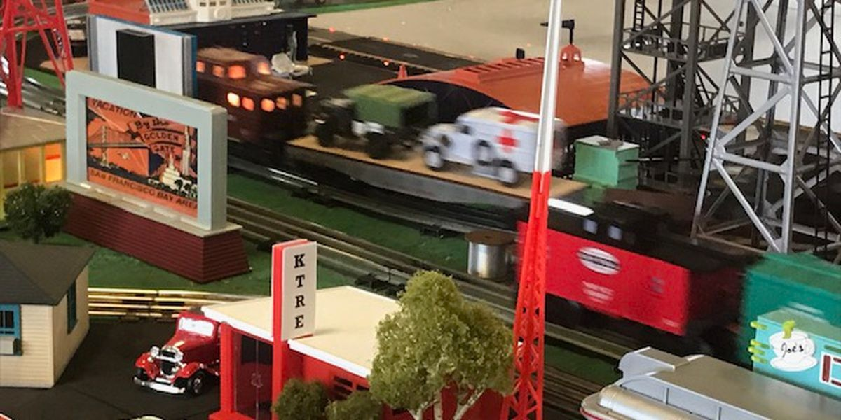 Model train display opens in Nacogdoches