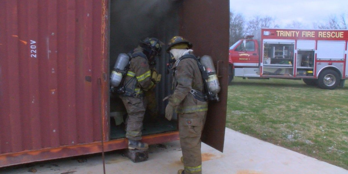 Trinity Fire Department implements training facility with live smoke house