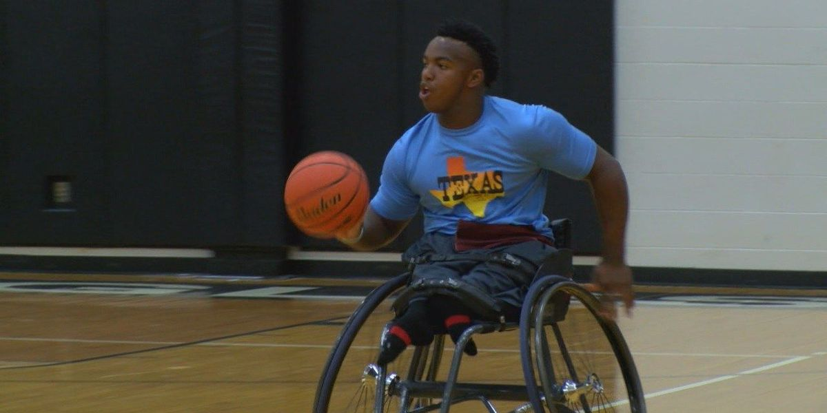 Inspired Trinity photographer raises money for Woodville athlete's racing wheelchair