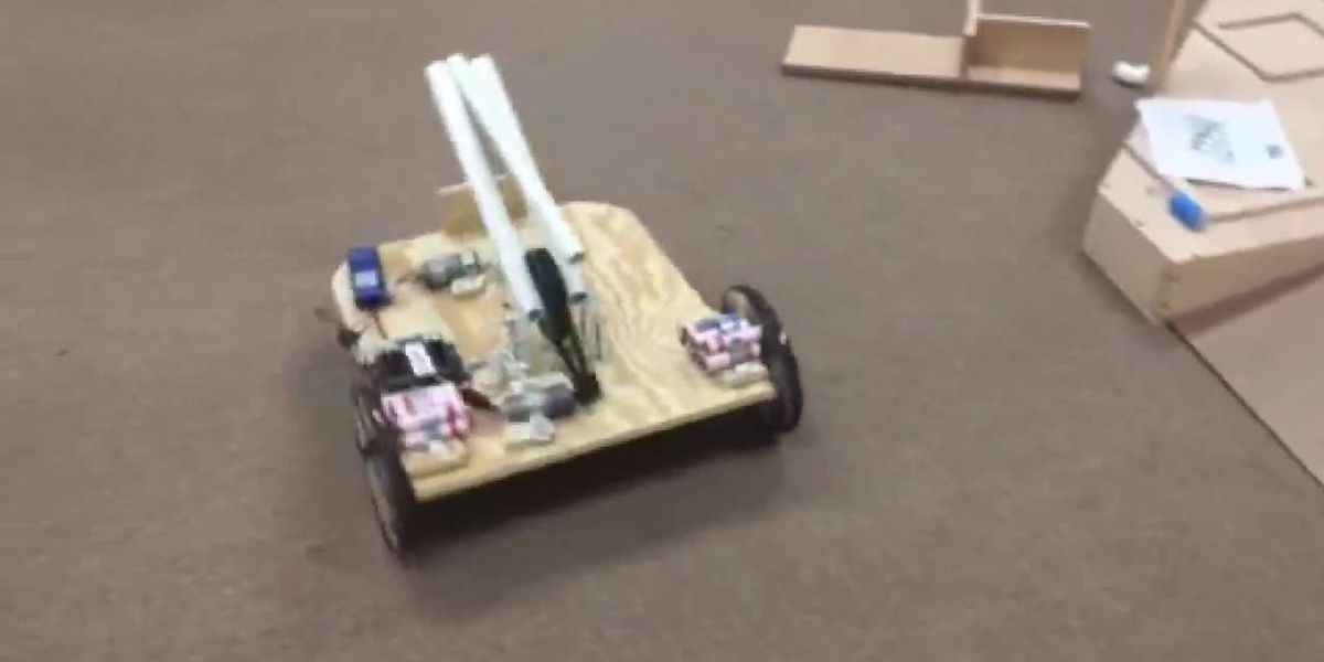 Central ISD students gear up for state robotics competition