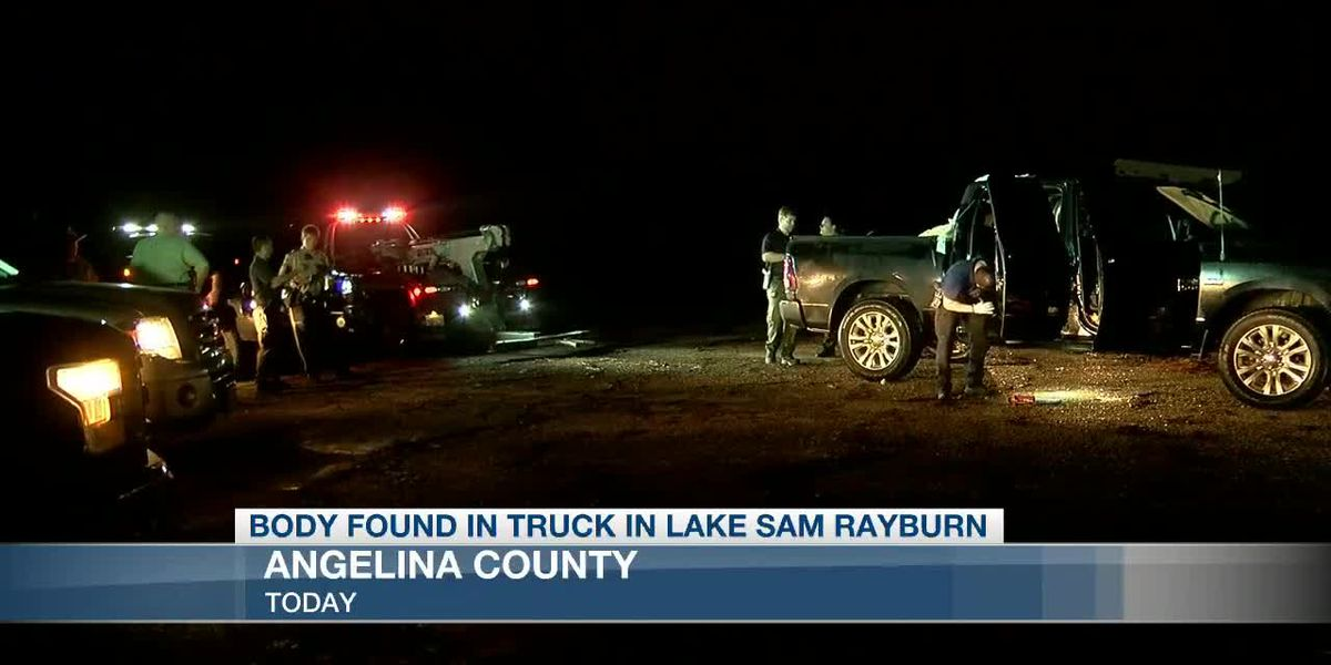 Angelina County Sheriff's Office releases name of man found in submerged truck