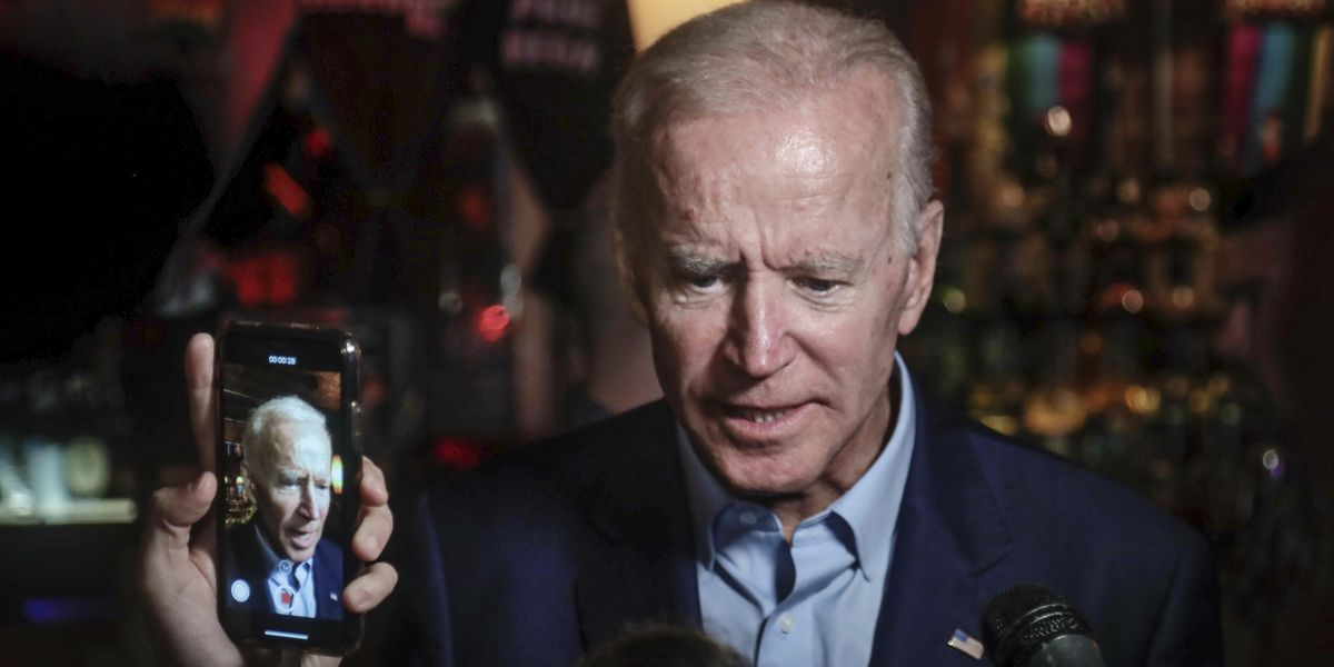 Biden's words on segregationist senators draw rivals' fire