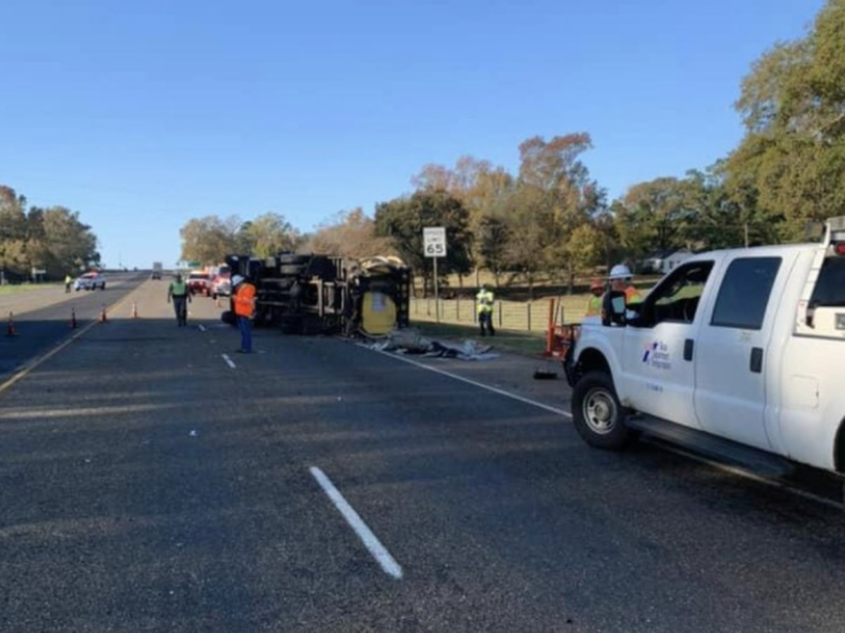 Crash reported on US 59 in Nacogdoches County