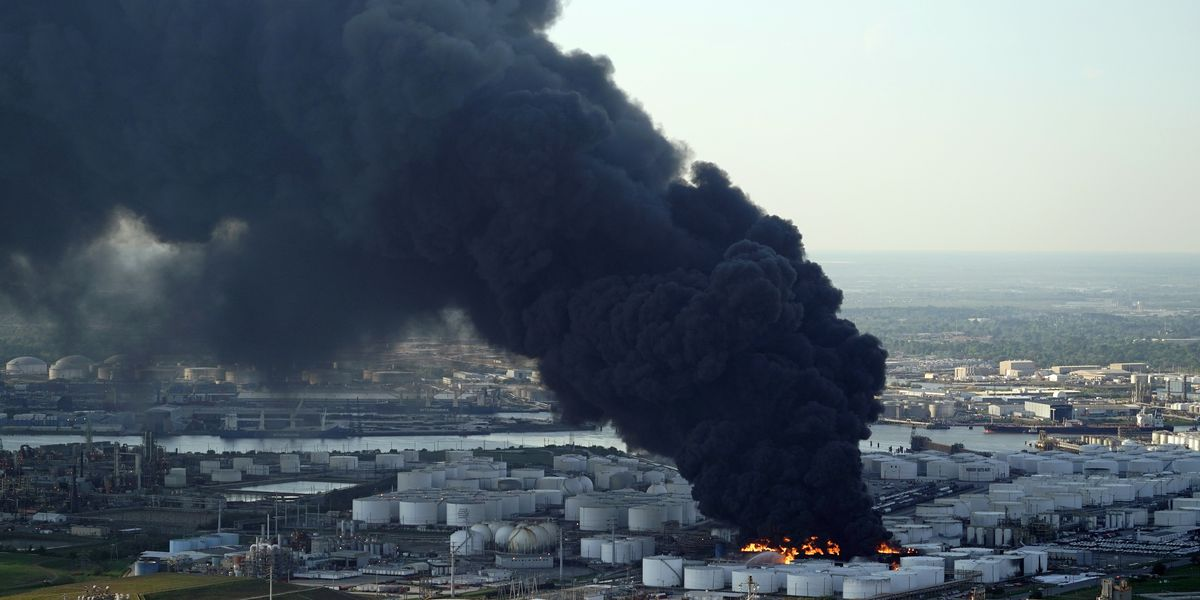 Charges filed after fire at Texas petrochemical facility