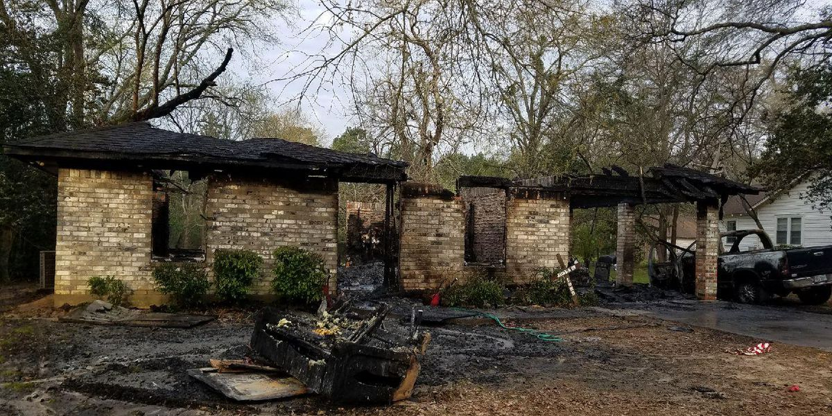 Father, daughter in Nacogdoches talk about narrowly escaping house fire