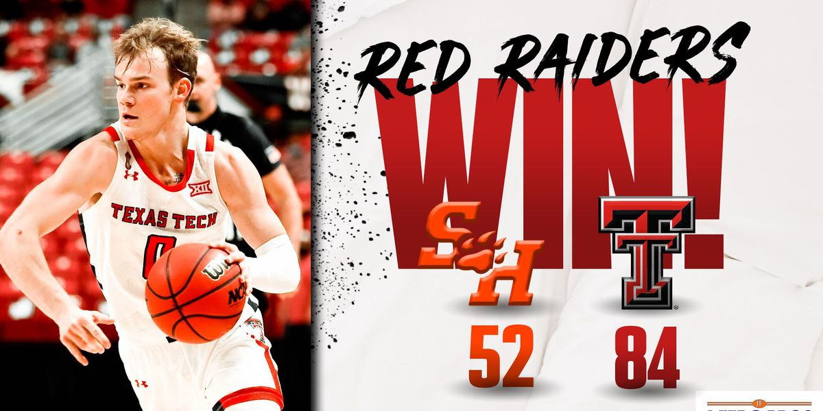 #14 Red Raiders knock off Sam Houston State