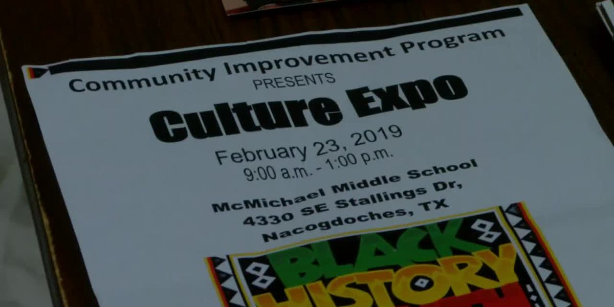 WEBXTRA: Nacogdoches Community Improvement Program to host Black History Culture Expo