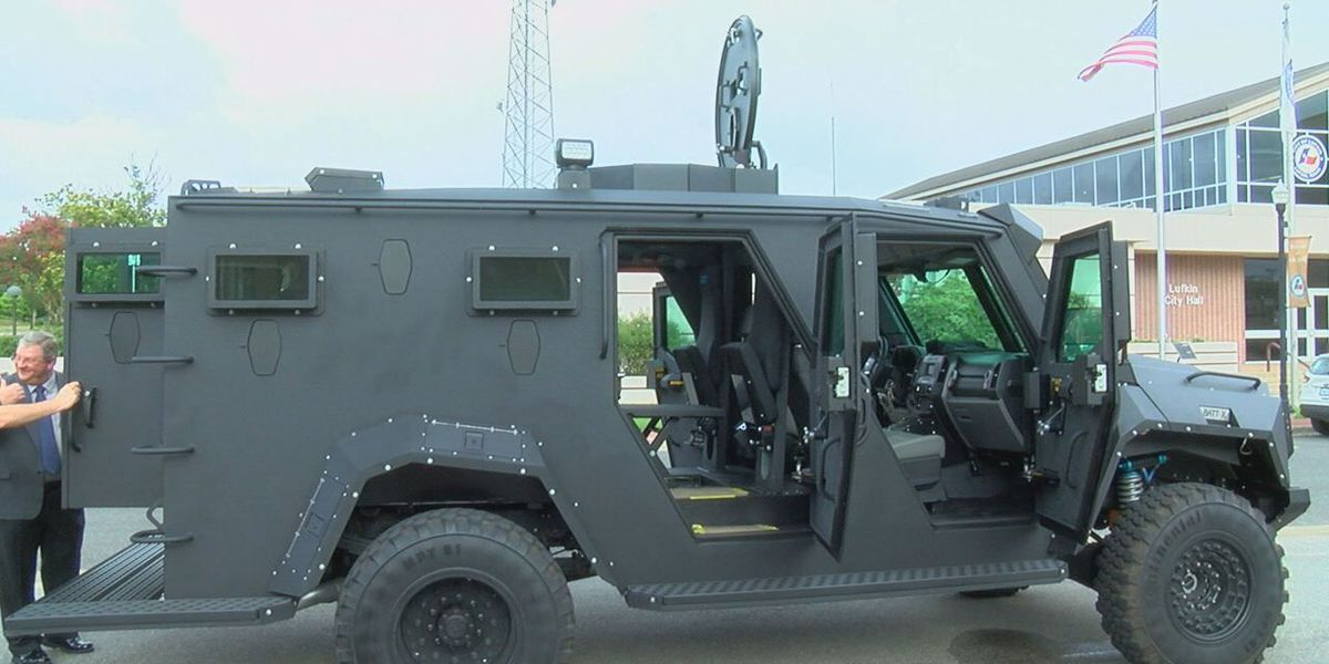 Lufkin police say BATT-X rescue vehicle is a defensive option